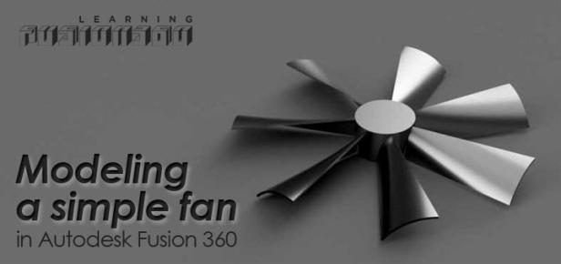 Fan Logo Fusion 360